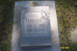 Cecil Tabeling