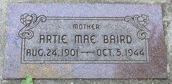 """Arta Mae """"Artie"""" <I>Jones</I> Baird"""