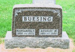 Margareta C <I>Beckmann</I> Buesing
