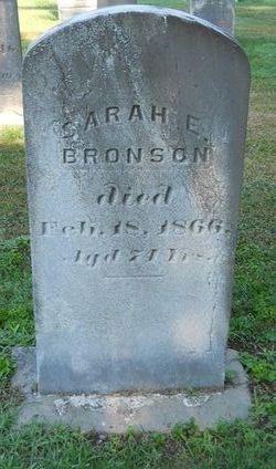 Sarah E <I>Stanwood</I> Bronson