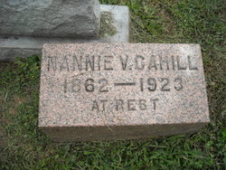 Nancy V <I>Spence</I> Cahill