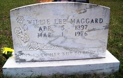 Willie Lee <I>Connerly</I> Maggard