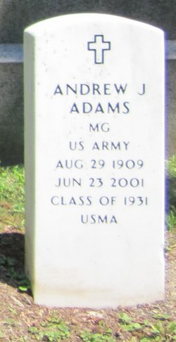 MG Andrew Joseph Adams