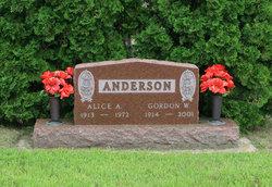 Alice A <I>Jensen</I> Anderson