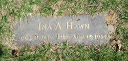 Ina A. <I>Kiehl</I> Hawn