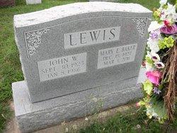 Mary Ellen <I>Donahoe</I> Lewis Baker