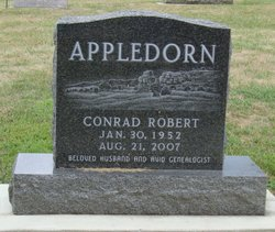 """Conrad Robert """"Bob"""" Appledorn"""