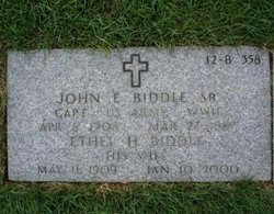 Ethel <I>Hall</I> Biddle