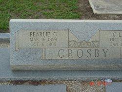 """Pearl """"Pearlie"""" <I>Giddens</I> Crosby"""