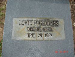 Lovie Maybelle <I>Pafford</I> Giddens