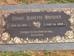 Cherie Jeanette <I>Jackson</I> Whitlock
