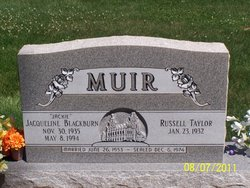 "Jacqueline ""Jackie"" <I>Blackburn</I> Muir"