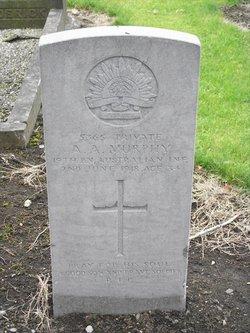 Private Arthur Andrew Murphy
