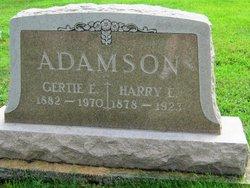 """Gertrude E """"Gertie"""" <I>Duncan</I> Adamson"""