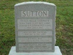 Donna Belle <I>Stinnett</I> Sutton