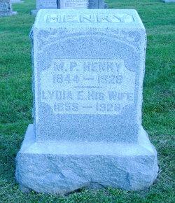 Lydia E. <I>Day</I> Henry