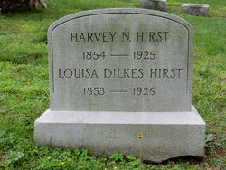 Louisa <I>Dilkes</I> Hirst