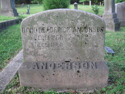 David Deaderick Anderson