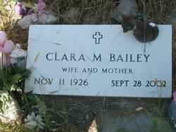 Clara M Bailey