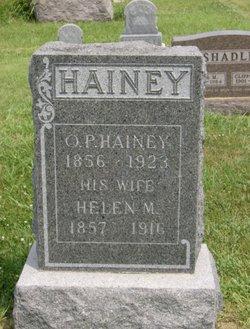 Helen M. <I>Whiston</I> Hainey