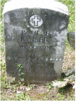 Paul Edward Kaiser
