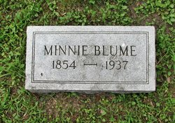 "Wilhelmina ""Minnie"" <I>Fritz</I> Blume"