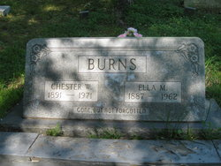 Chester W Burns