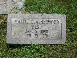 Mattie <I>Leatherwood</I> Best