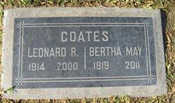 Bertha Mae <I>Osborn</I> Coates