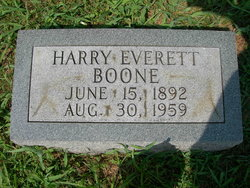 Harry Everett Boone