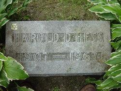 Harold Dwight Hess