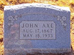 John Axe