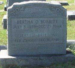 Bertha Olive <I>Bobbitt</I> Britton