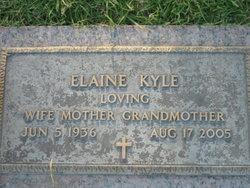 Elaine <I>Humphries</I> Kyle
