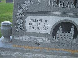 Evelyne Jane <I>Whitman</I> Johansen