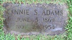 Fannie <I>Sharpe</I> Adams