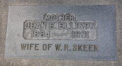Jean Elizabeth <I>Ellison</I> Skeen