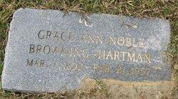 Grace Ann <I>Noble</I> Browning