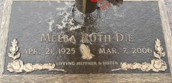 Melba Ruth <I>Ronquille</I> Die