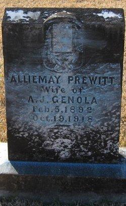 Allie May <I>Prewitt</I> Genola
