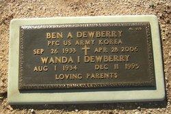 Wanda Irene Dewberry