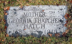 Georgia <I>Thatcher</I> Hatch