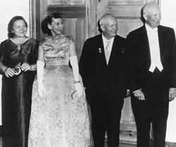 Mrs Nina Petrovna <I>Kukharchuk</I> Khrushcheva