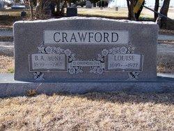 """Bernice Anderson """"Bunk"""" Crawford"""