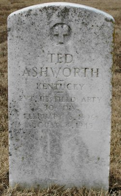 Pvt Ted Ashworth