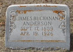 James Buchanan Anderson