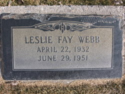 Leslie Fay Webb
