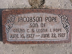 Jacobson Pope