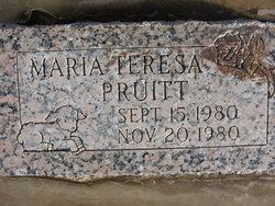 Maria T Pruitt