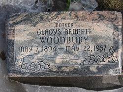 Gladys <I>Bennett</I> Woodbury